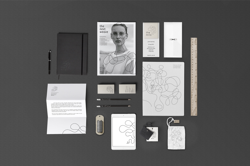 Substance_The-Mills_Stationery Branding